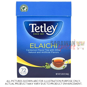 Tetley With Elaichi 72 Tea Bags