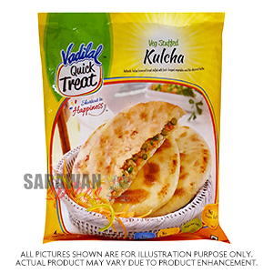 Vadilal Veg Stuffed Kulcha 4Pc