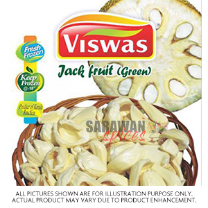 Viswas Jackfruit Green Slice 400G