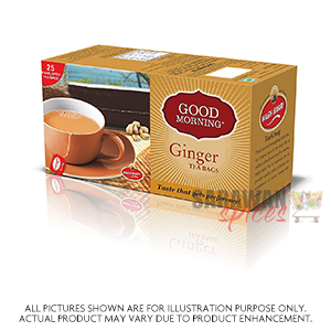 Waghbakri Ginger 50G (25Bags)