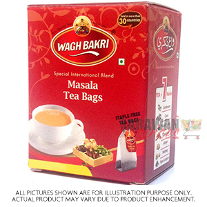 Waghbakri Masala Tea Bag Local 100 Bags