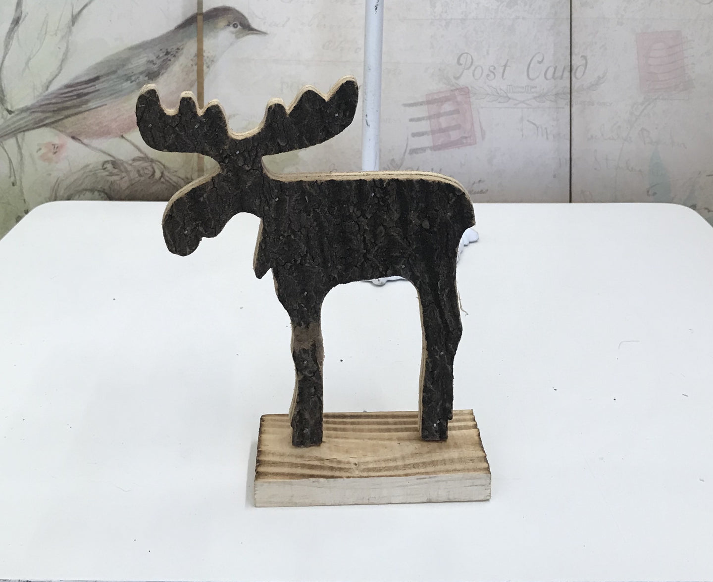8 1/2 in. Standing Bark Moose