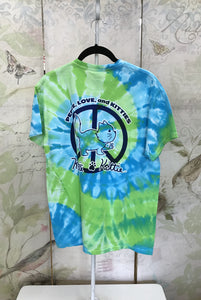 Tie-Dye Peace Kittie