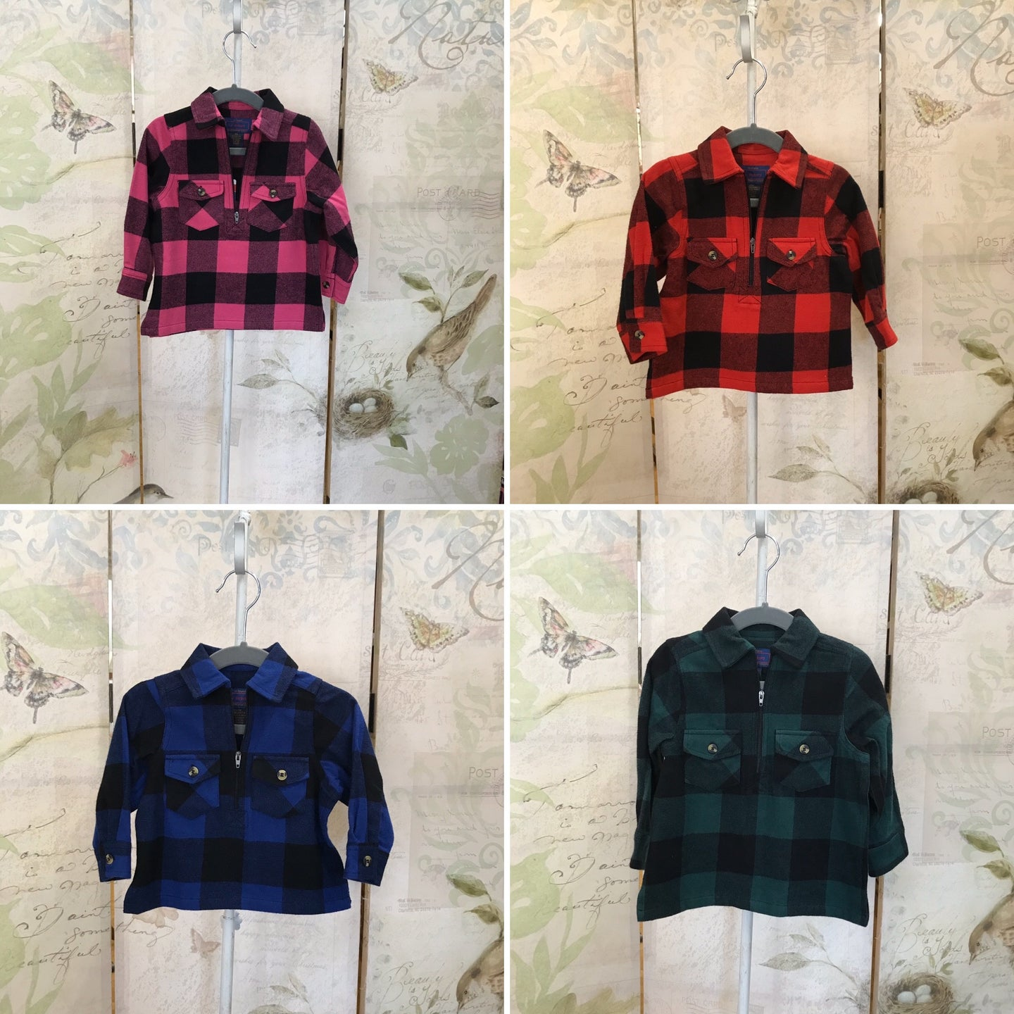 Buffalo Plaid Flannel Pullover (Toddler)
