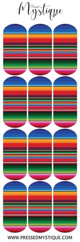 Mexican Blanket Decal