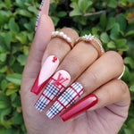 Burberry Inspired Plaid Decal