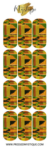 Kente Print 4 Decal