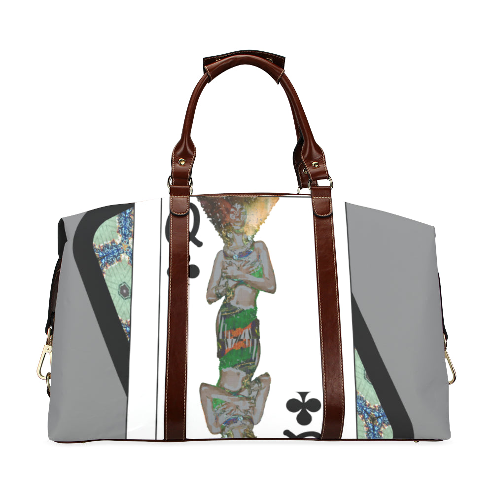 Play Your Hand...Queen Club No. 1 Classic Travel Bag