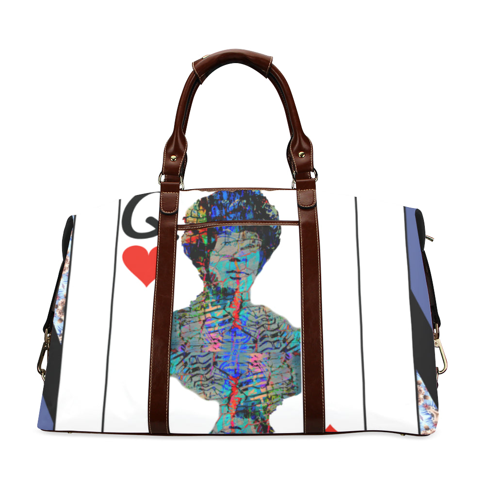 Play Your Hand...Queen Heart No. 2 Classic Travel Bag
