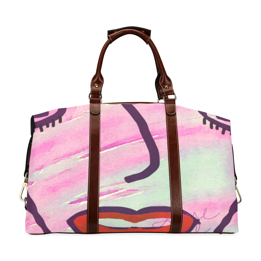 She Said Live In Color Classic Travel Bag