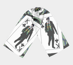 Load image into Gallery viewer, Play Your Hand...King Club No. 1 Long Scarf