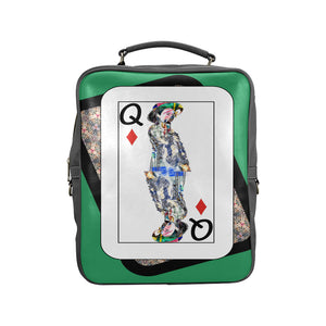Play Your Hand...Queen Diamond No. 4 Backpack
