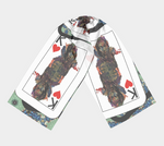 Load image into Gallery viewer, Play Your Hand...King Heart No. 1 Long Scarf