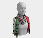 Load image into Gallery viewer, They Learned to Swim Long Scarf