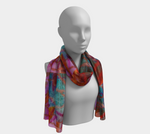 Load image into Gallery viewer, Genius Within Long Scarf