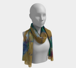 Load image into Gallery viewer, Flowers To Market Long Scarf