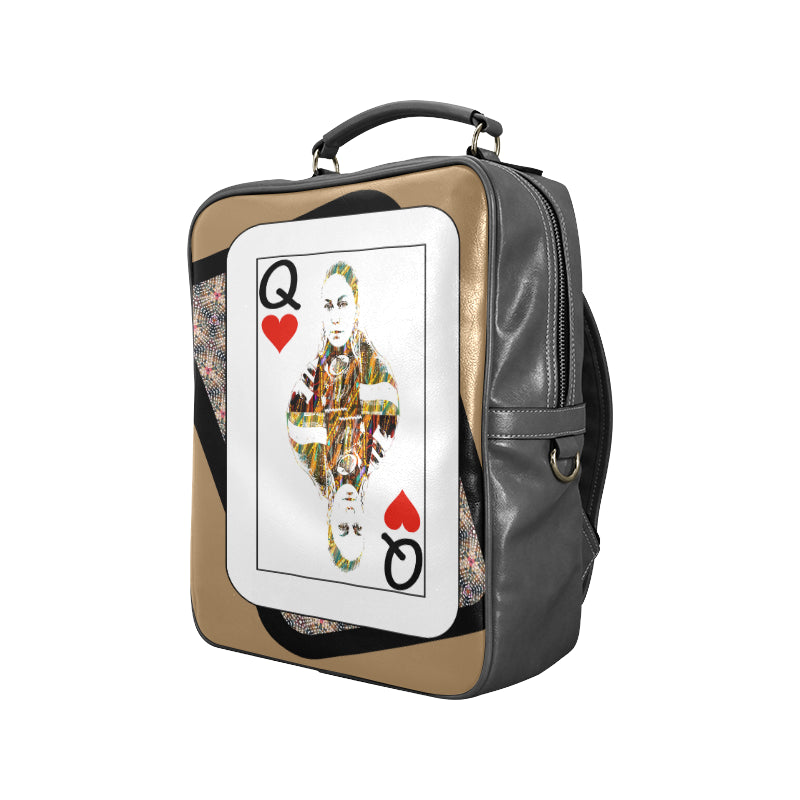 Play Your Hand...Queen Heart No. 4 Backpack