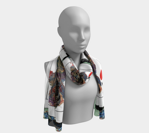 Play Your Hand...King Heart No. 1 Long Scarf