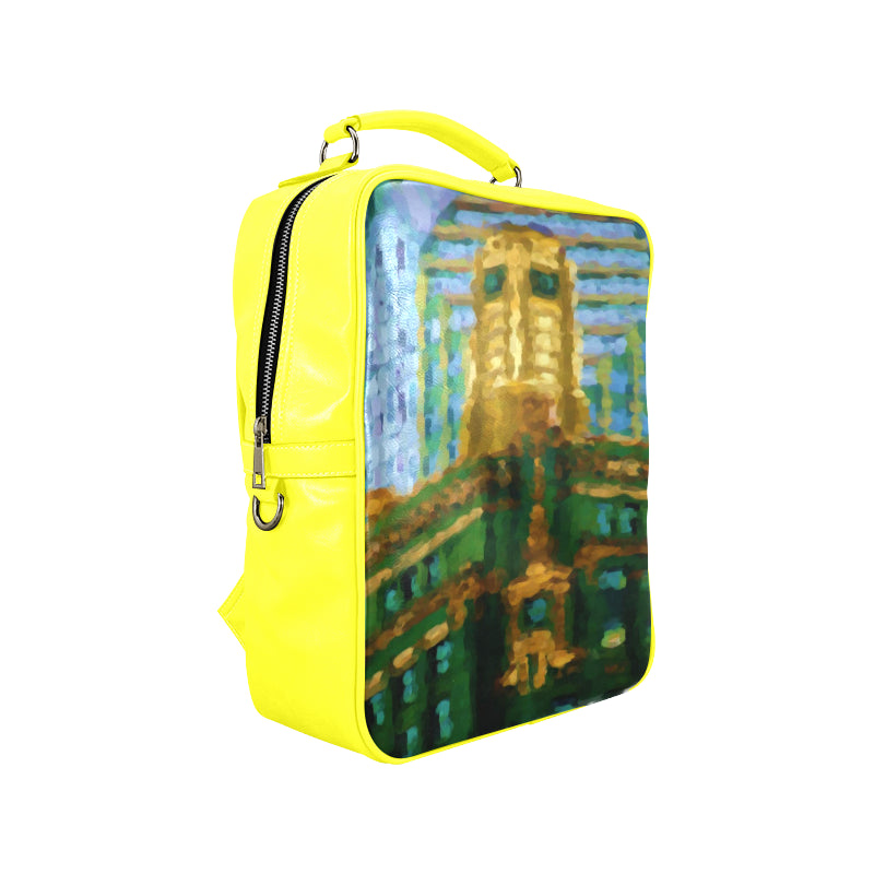 Art Deco- Carbide and Carbine Building Backpack
