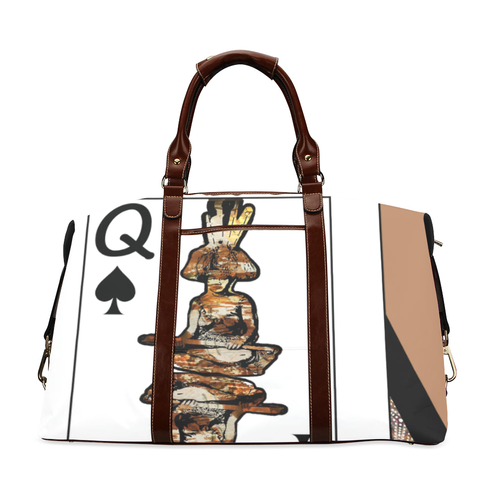 Play Your Hand...Queen Spade No. 4 Classic Travel Bag