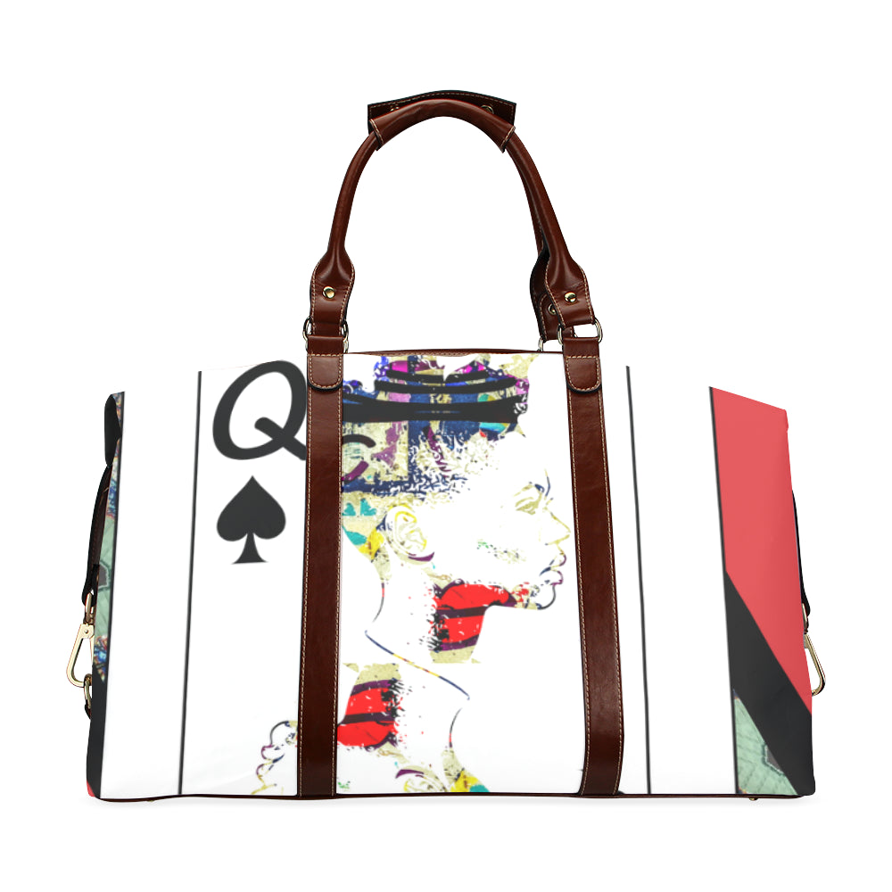 Play Your Hand...Queen Spade No. 1 Classic Travel Bag