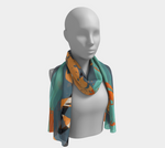 Load image into Gallery viewer, I Love You Jody No. 2 Long Scarf