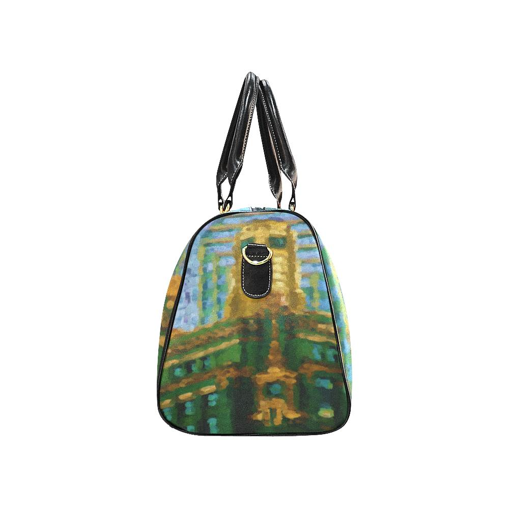 ART DECO- CARBIDE AND CARBINE BUILDING Small Duffel Bag