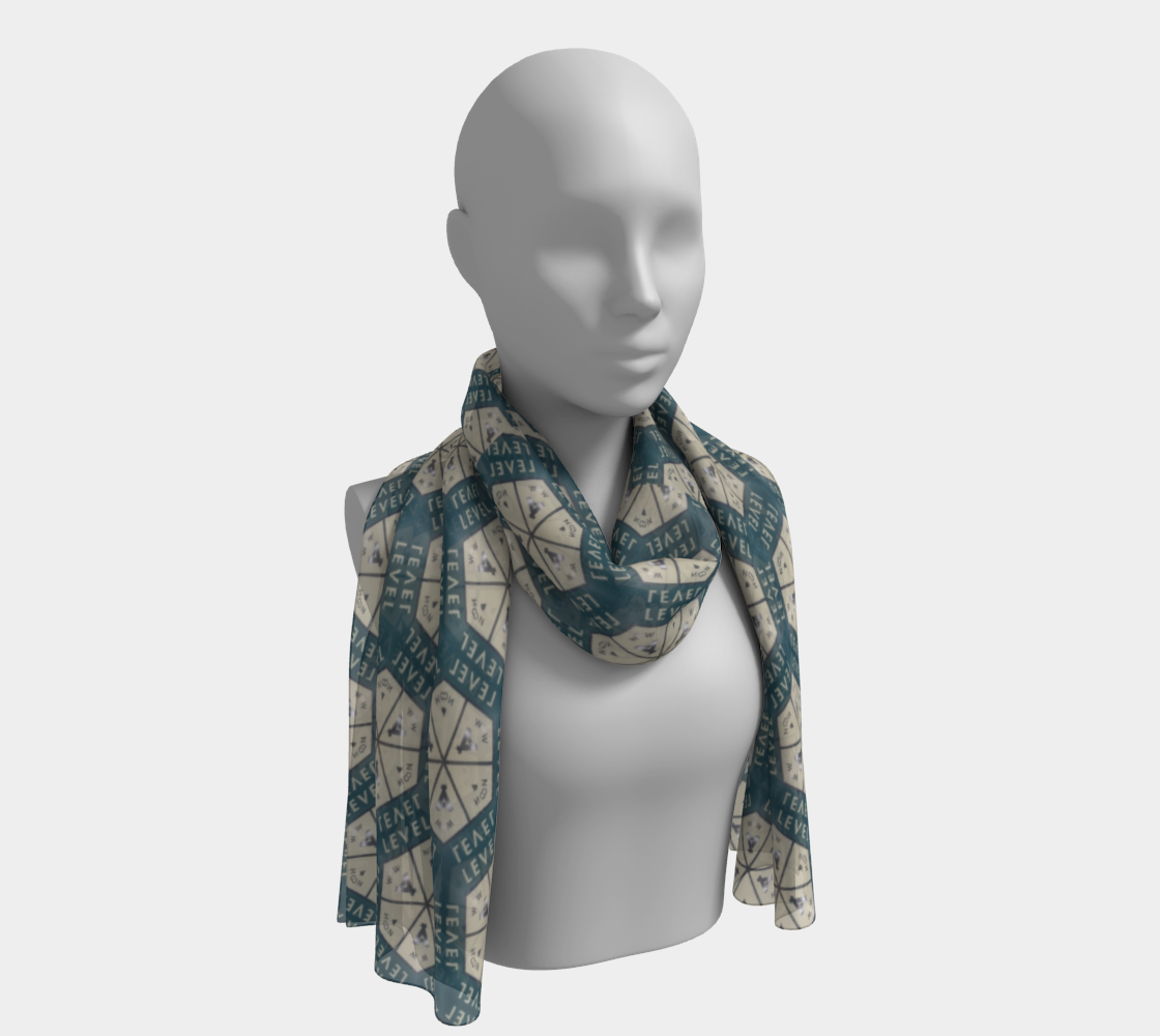 Level Up No. 2 Long Scarf