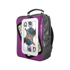 Play Your Hand...Queen Diamond No. 3 Backpack