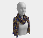 Load image into Gallery viewer, Key To Transformation Long Scarf