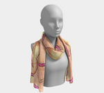 Load image into Gallery viewer, Eyes Wide Open Long Scarf