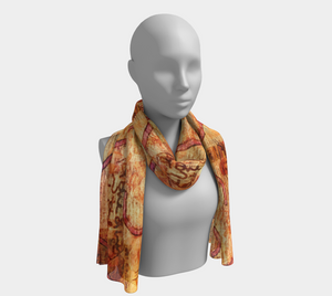 BE In The Details Long Scarf