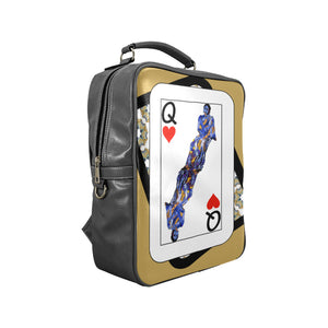 Play Your Hand...Queen Heart No. 3 Backpack