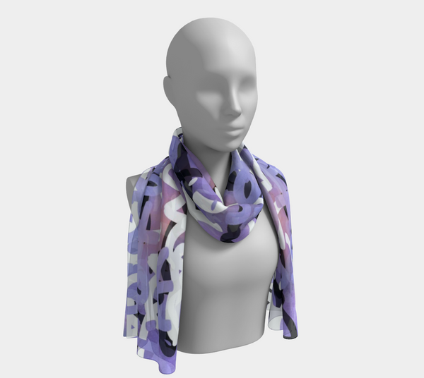 Love All Day Ombre' Long Scarf
