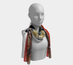 Load image into Gallery viewer, Play Your Hand...King Club No. 3 Long Scarf