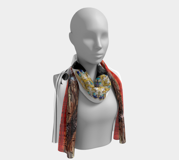 Play Your Hand...King Club No. 3 Long Scarf