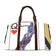 Play Your Hand...Queen Heart No. 3 Classic Travel Bag