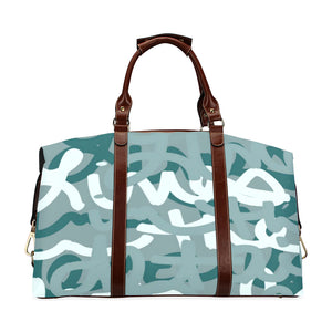 Love All Day Green Classic Travel Bag