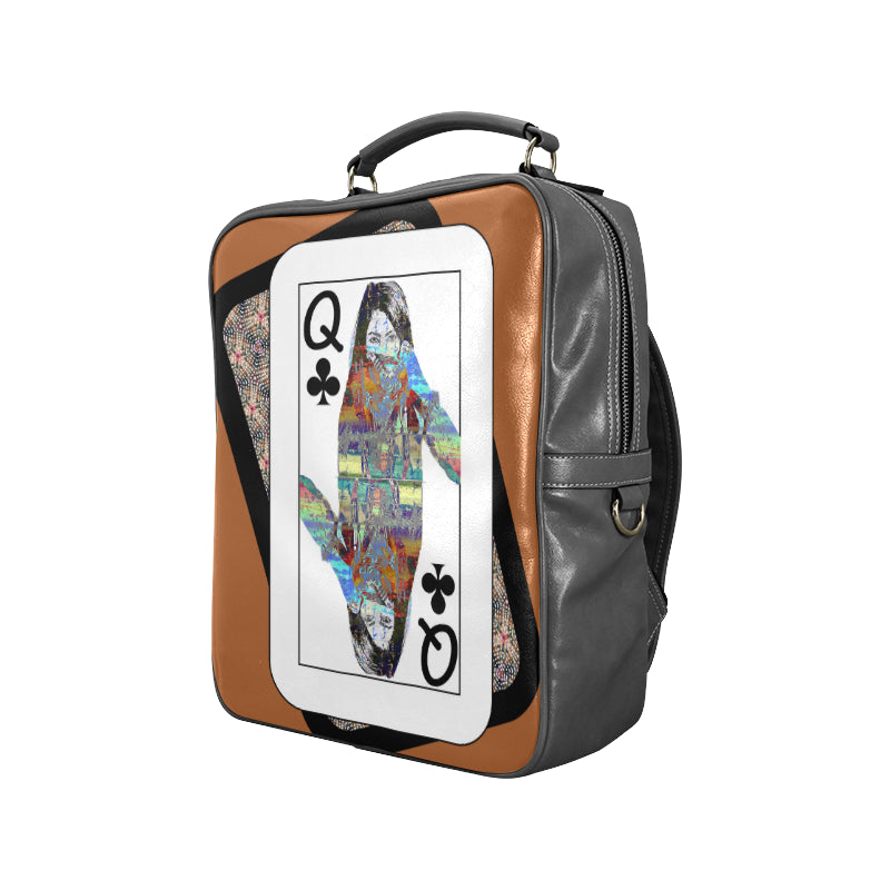 Play Your Hand...Queen Club No. 4 Backpack