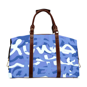 Love All Day Blue Classic Travel Bag