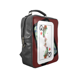 Play Your Hand...Queen Diamond No. 1 Backpack