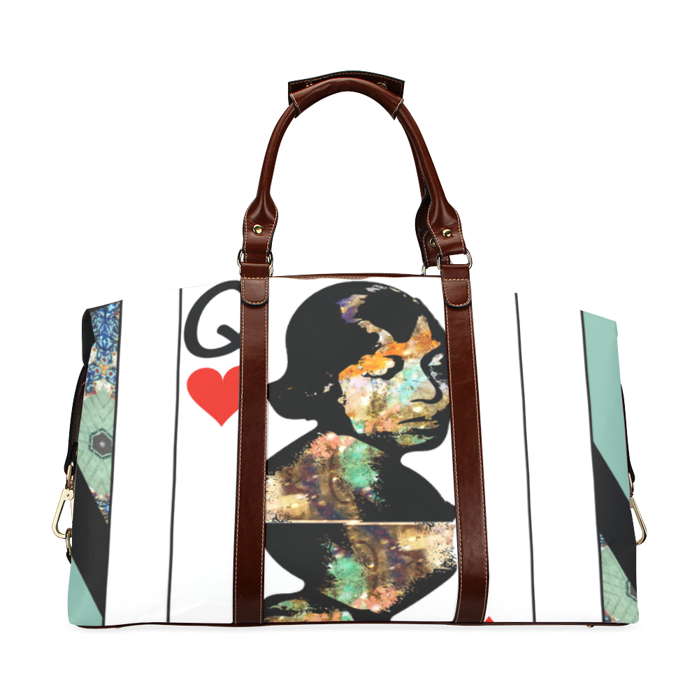 Play Your Hand...Queen Heart No. 1 Classic Travel Bag