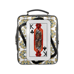 Load image into Gallery viewer, Play Your Hand...King Club No. 3 Square Backpack