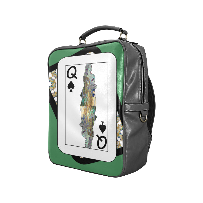 Play Your Hand...Queen Spade No. 3 Backpack
