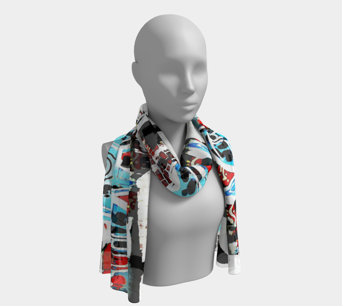 One Man's Trash Long Scarf