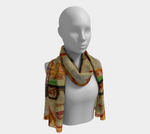Been Around The World Long Scarf