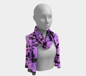 All of My Purple Life Long Scarf