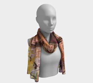 All That Glitters Long Scarf