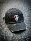Black denim purge hat.