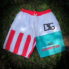 No competition swim trunks